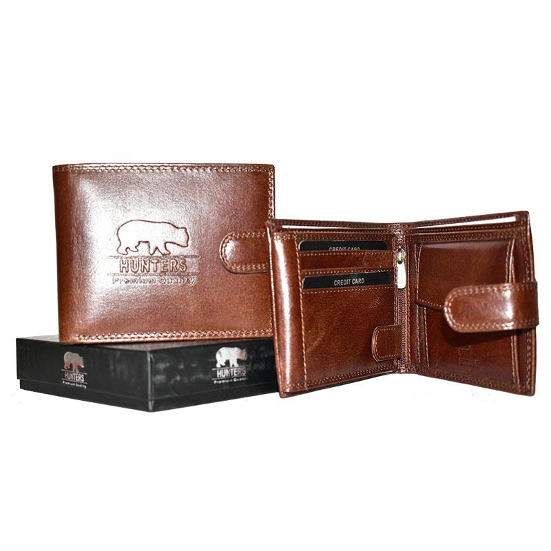 Zajímavá finanční nabídka na kožené peněženky značky Hunters