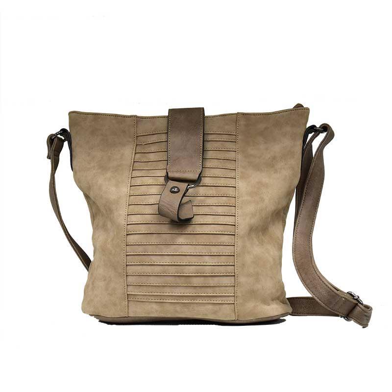 Dámská béžová kabelka přes rameno Tapple f10698cbe11