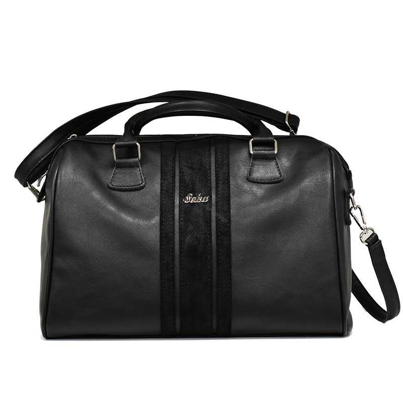 16380a2748 Dámská luxusní černá kabelka značky Seka