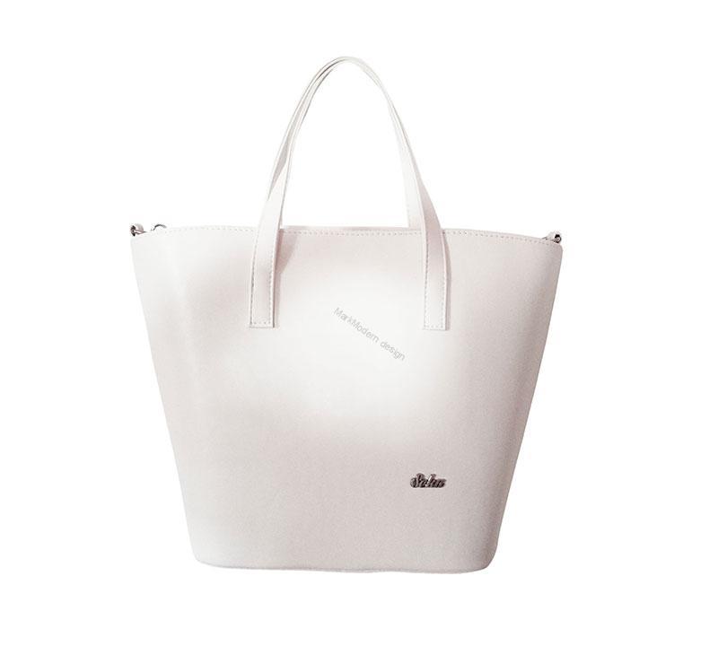 43a55a6b3cfb Elegantní dámská kabelka bílá značky Seka
