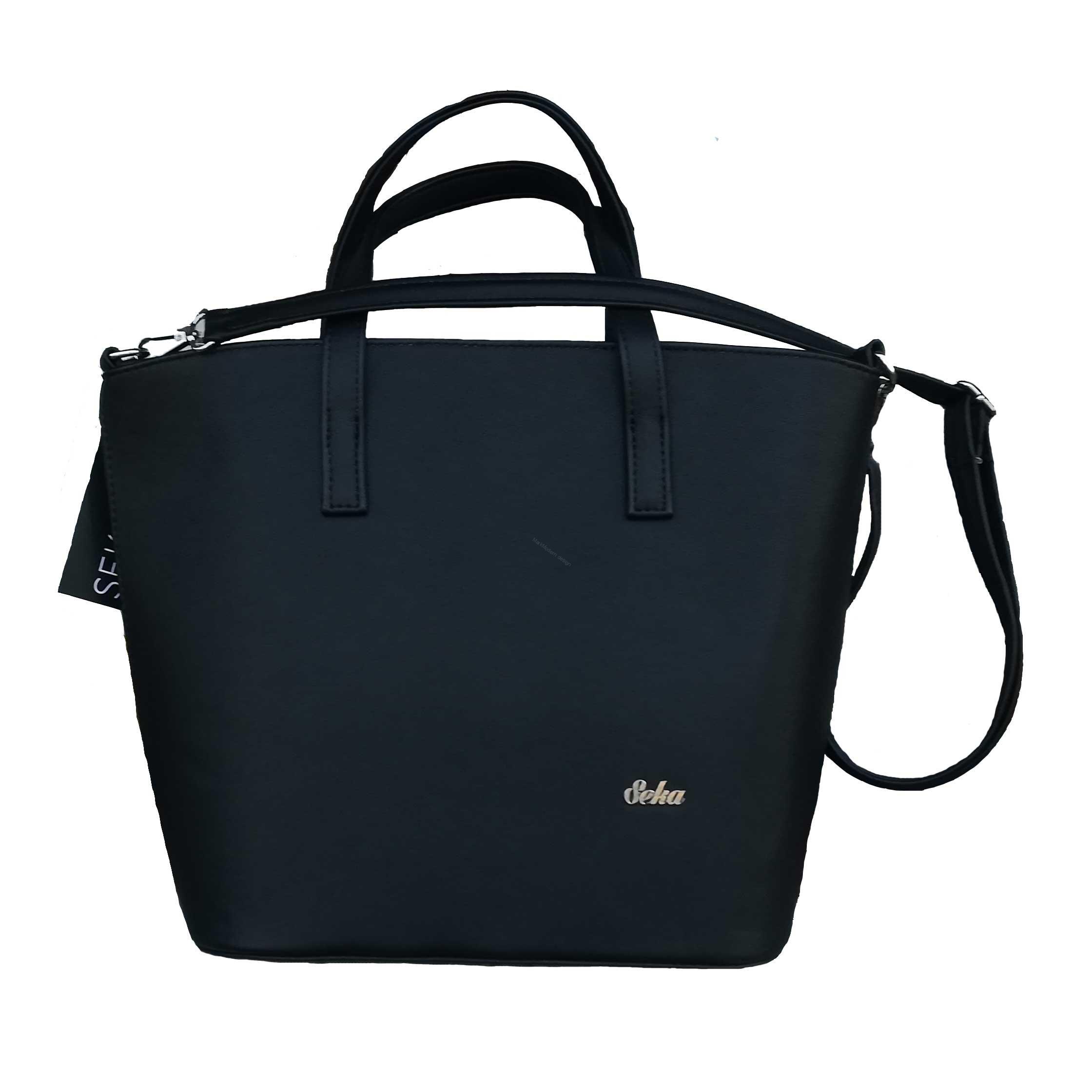 Elegantní dámská kabelka černá značky Seka c394e67829