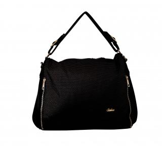Elegantní zlatá kabelka značky Seka empty d73ec55885